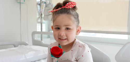 Paciente pediátrico en Sant Jordi en Vall d'Hebron